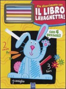 Filippodegasperi.it Il coniglio Gildo. Che divertimento con il libro lavagnetta! Con gadget Image