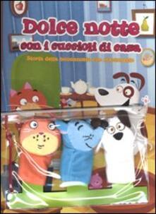 Capturtokyoedition.it Dolce notte con i cuccioli. Storia della buonanotte con marionette. Con gadget Image