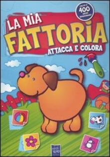 Antondemarirreguera.es La mia fattoria. Attacca e colora. Con adesivi Image