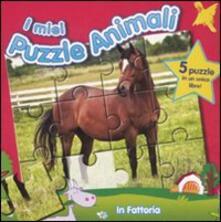 Listadelpopolo.it In fattoria. I miei puzzle animali. Libro puzzle Image