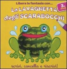Antondemarirreguera.es La lavagnetta degli scarabocchi. Rana. Con gadget Image