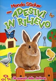 Gli animali della fattoria. Con adesivi.pdf