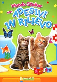 Grandtoureventi.it I cuccioli. Con adesivi Image