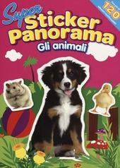 Gli animali. Il cane. Con adesivi