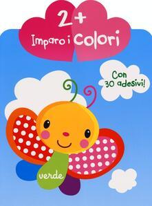 Winniearcher.com Imparo i colori. Con adesivi Image