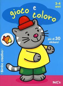 Grandtoureventi.it Gioco e coloro. 3-4 anni. Bimbo creativo. Con adesivi Image