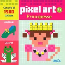Amatigota.it Principesse. Pixel art. Con stickers Image