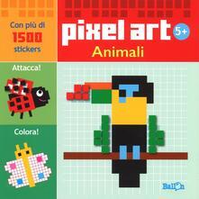 Animali. Pixel art. Con stickers.pdf