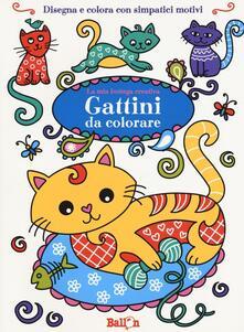 Gattini da colorare. La mia bottega creativa. Ediz. a colori.pdf
