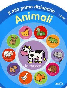 Librisulladiversita.it Animali. Il mio primo dizionario 1-2 anni Image