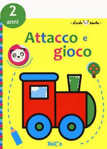 Piccolo panda. Attacco e gioco. 2 anni. Con adesivi (giallo). Ediz. a colori.pdf