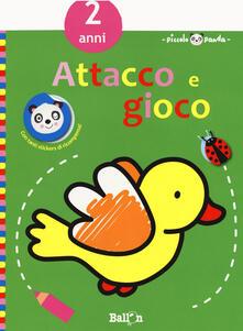 Daddyswing.es Piccolo panda. Attacco e gioco. 2 anni. Con adesivi (verde). Ediz. a colori Image