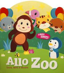 Camfeed.it Zoo. Tocca senti e ascolta. Libro sonoro Image