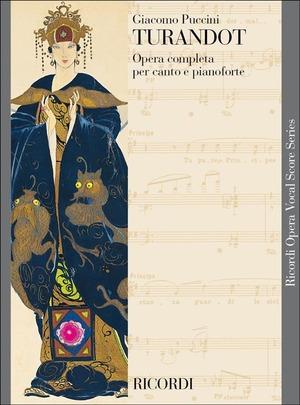 Turandot. Vocal Score. canto e pianoforte. Italiano-Tedesco