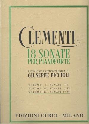18 sonate per pianoforte
