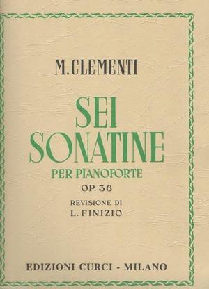Sei sonatine per pianoforte op. 36