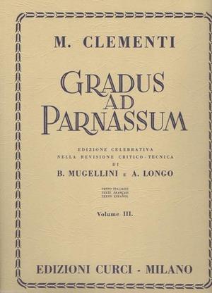 Gradus ad Parnassum. Per pianoforte. Metodo