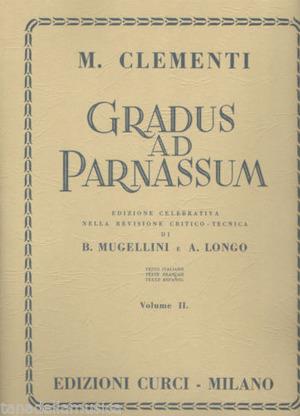 Clementi. Gradus Ad Parnassum vol. 2. Pianoforte