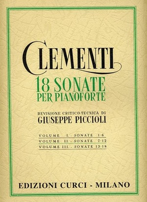 18 sonate per pianoforte