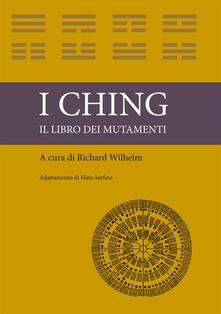 I ching. Il libro dei mutamenti - copertina
