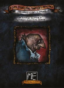 Di come Edgar Letfall sconfisse l'Impostore (per quanto ci è dato di sapere) - Carmine Cristallo Scalzi - copertina