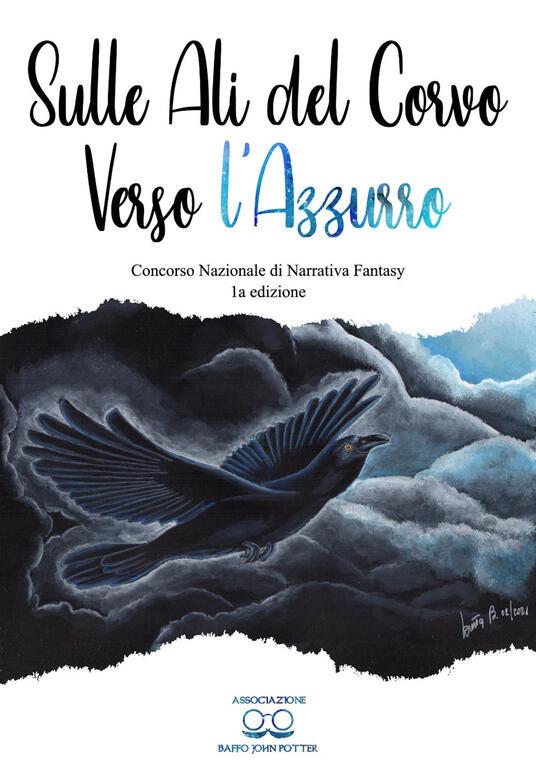 Sulle ali del corvo verso l'azzurro - copertina