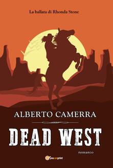 Dead West - Alberto Camerra - copertina