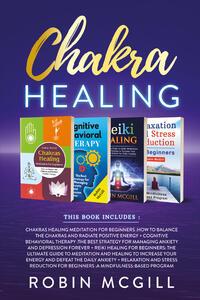 Libro Chakra healing Robin McGill