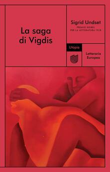 La saga di Vigdis - Sigrid Undset - copertina