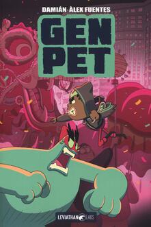 Gen pet. Vol. 1: Nat & Niko. - Damián,Alex Fuentes - copertina