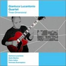 Three-Dimensional - CD Audio di Gianluca Lucantonio