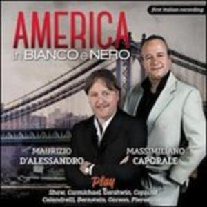 CD America in bianco e nero Massimiliano Caporale Maurizio D'Alessandro