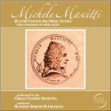 Quattro concerti dell'Opera Settima - CD Audio di Michele Mascitti