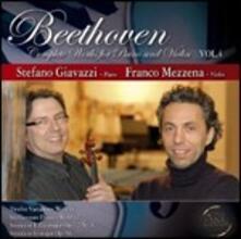 Opere complete per violino e pianoforte vol.4 - CD Audio di Ludwig van Beethoven,Franco Mezzena,Stefano Giavazzi