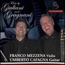 Music by Giuliani and Gragnani - CD Audio di Mauro Giuliani,Filippo Gragnani,Franco Mezzena,Umberto Cafagna