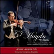 Concerto in Sol - Concerto in Do - CD Audio di Franz Joseph Haydn,Andrea Castagna,Orchestra Interamnia Ensemble