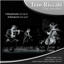 Vite parallele - CD Audio di Trio Riccati