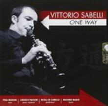One Way - CD Audio di Vittorio Sabelli