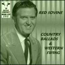 Country Ballads & Western - CD Audio di Red Sovine