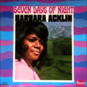 Seven Days Of Night.. - Vinile LP di Barbara Acklin