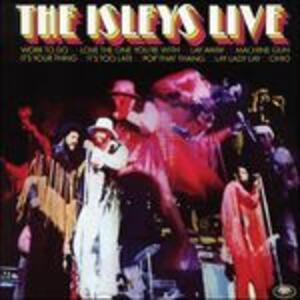 The Isleys Live - Vinile LP di Isley Brothers